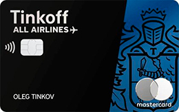 Кредитная карта Tinkoff ALL Airlines Black Edition